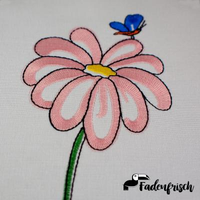 Embroidery Design ★SET★ Flower Margo