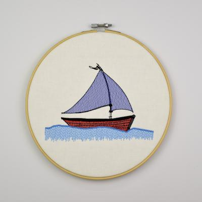 Embroidery Design - Sailboat