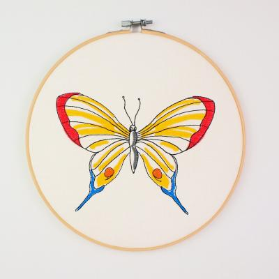 "Embroidery Design - Butterfly Sophie ""L"""