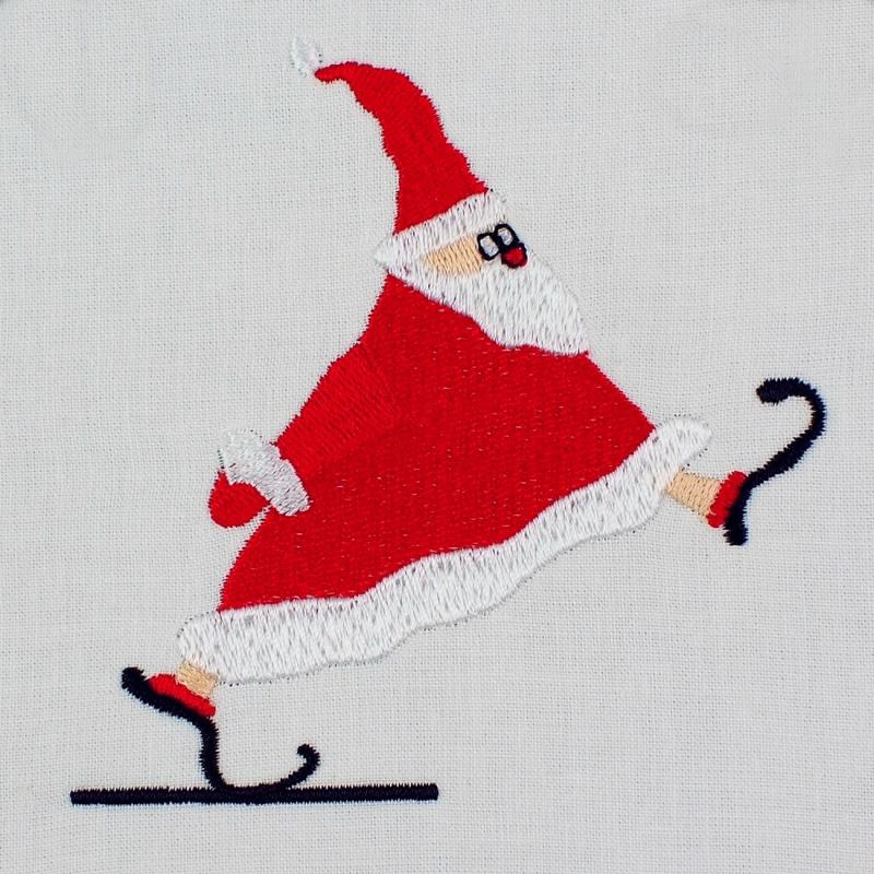 Embroidery design Santa Claus - Download embroidery file by FADENFRISCH